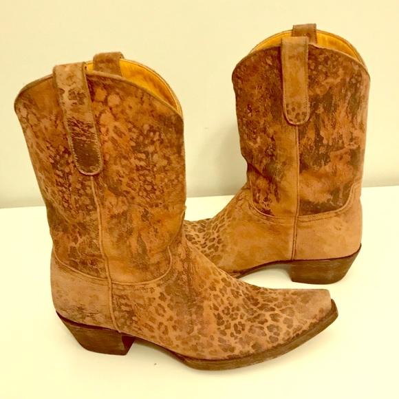 """c48767fe672  Old Gringo Leopardito 10"""" Women's Boots L168-22"""